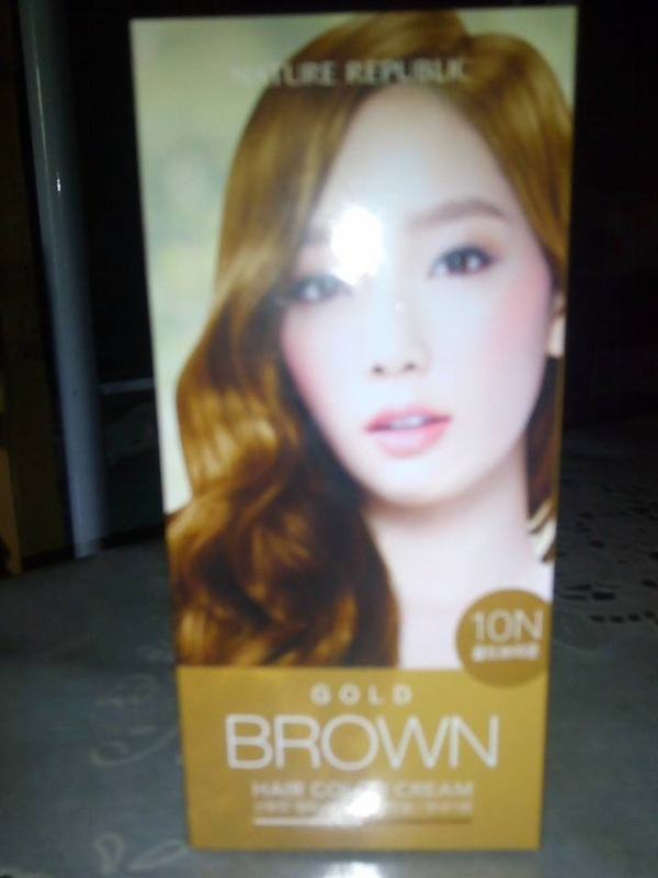 Nature Republic Gold Brown Hair Color